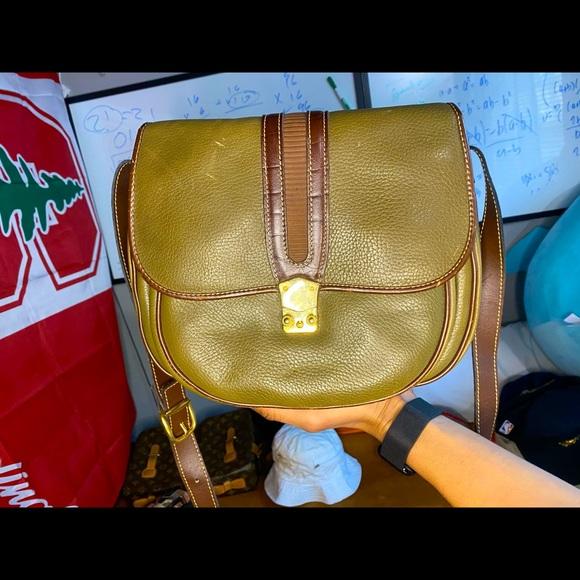 Vintage Francesco Blasia Leather bag